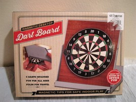 MAGNETIC DESKTOP DART BOARD new in box - $9.41