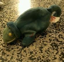 Iggz Plush Vintage Ty Mc Donald's Teenie B EAN Ie Baby Iggy The Iguana - $2.48