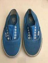 Vans Off the Wall T376 Men's 7 Women's 8.5 Aqua Skateboard Shoes - $21.77