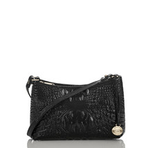 NEW! Authentic! BRAHMIN Mini Anytime Shoulder Bag-Black Melbourne - $179.88