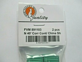 Fox Valley Models # FVM 891103 China Shipping 40' Corrugated Container 2/Pack (N image 2