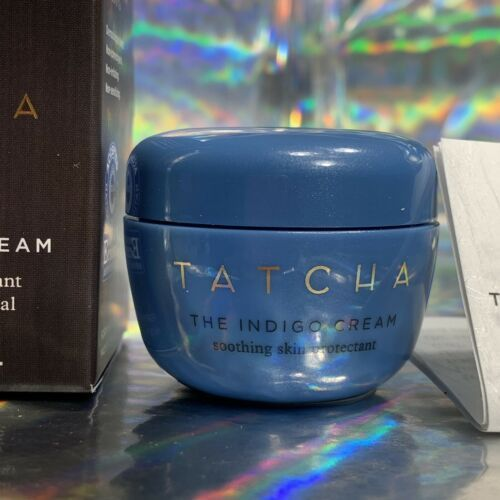 Tatcha The Indigo Cream 10mL New In Box Deluxe Travel SOOTHE DRY SKIN