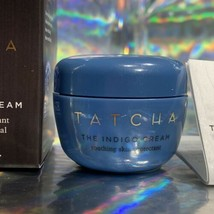 Tatcha The Indigo Cream 10mL New In Box Deluxe Travel SOOTHE DRY SKIN image 1