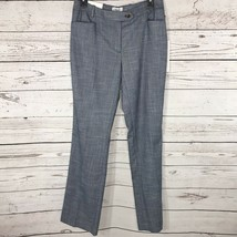 Calvin Klein Womens SZ 6 Pants Career Modern Fit Tapered Leg Pockets Fla... - $29.67