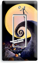 NIGHTMARE BEFORE CHRISTMAS JACK SKELLINGTON 1 GFCI LIGHT SWITCH PLATE RO... - $10.99