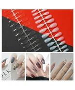 Fake Ballet Nails Fingers Manticure-Tips Long Full Cover For UV-Gel DIY ... - $24.39+