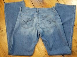 """James Women's Jeans Size 31 Aged Denim Hector  Medium Wash Inseam 34""""   b - $13.55"""