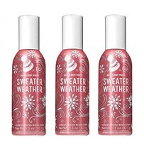 Bath & Body Works Sweater Weather Concentrated Room Spray 3 Pack - $32.50
