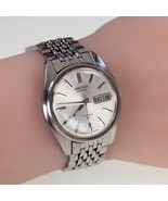 Seiko Stainless Steel Automatic Men's Watch with Day/Date Feature 7006-8007 - $874.10