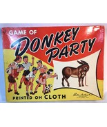 Vintage Donkey Party Game Parker Brothers Complete - $16.00