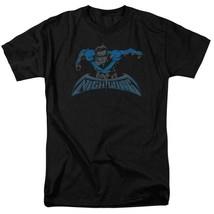 Nightwing t-shirt DC American comic books Superman hero graphic tee BM2468 image 1