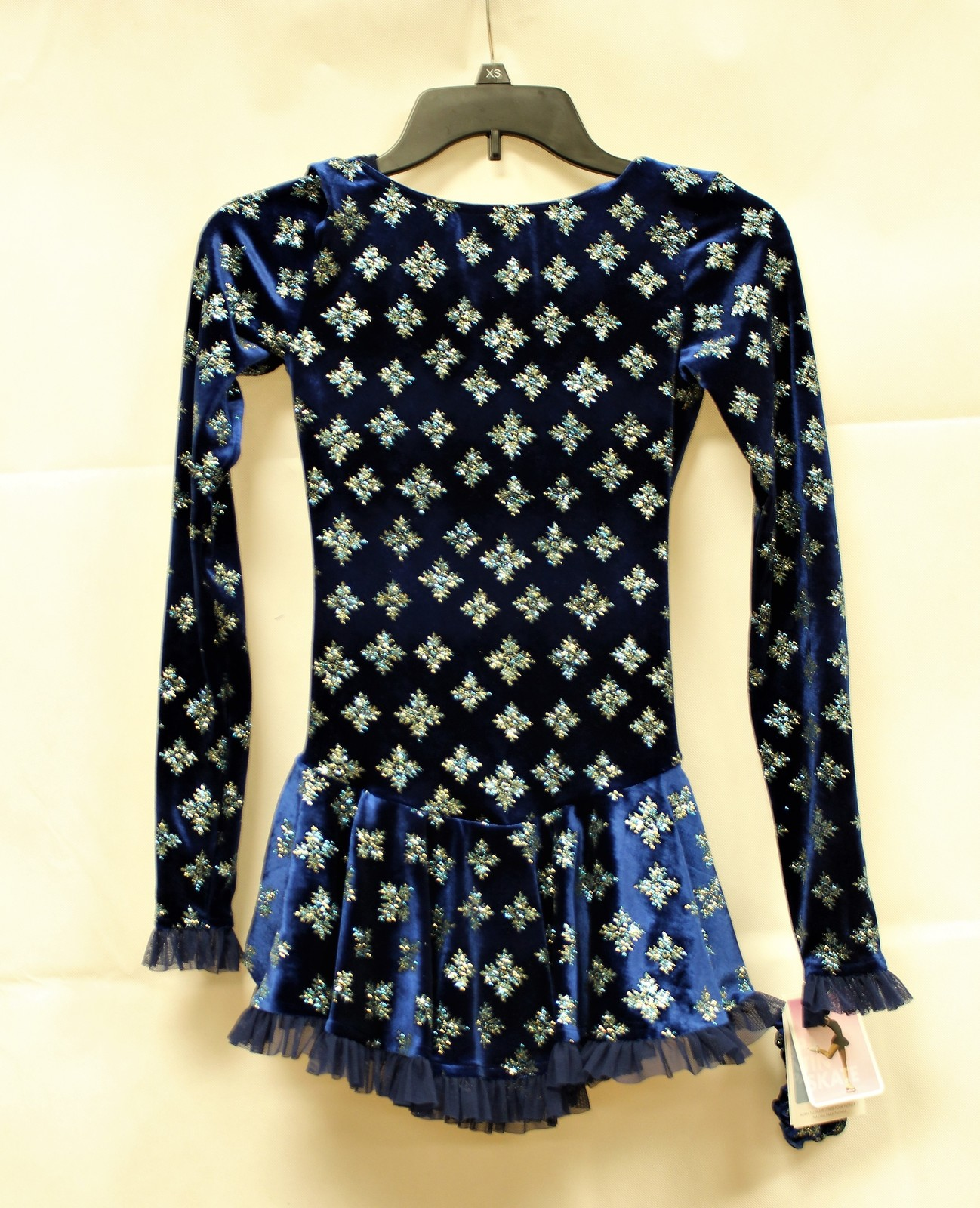 Primary image for Mondor Model 2739 Born to Skate Skating Dress - Blue Snowflakes Size Child 6X-7