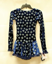 Mondor Model 2739 Born to Skate Skating Dress - Blue Snowflakes Size Chi... - $95.00