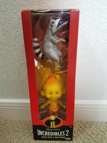Primary image for Incredibles 2 Champion Series Action Figure Raccoon & Jack-Jack Disney Pixar New