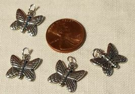 BUGS BIRDS AND GARDENING STERLING SILVER CHARM .925 HUGE SELECTION YOU CHOOSE image 3