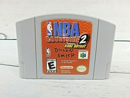 NBA Courtside 2 Featuring Kobe Bryant (Nintendo 64, 1999) N64 Video Game Tested - $10.40