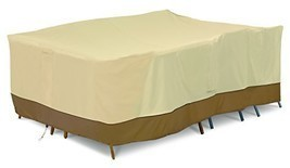 Classic Accessories 55-884-051501-00 Patio Furniture Cover, X-Large - $140.11