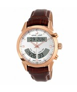 Alfajr Deluxe Brown Analog-Digital Wrist Watch with Leather Strap - €314,28 EUR