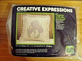 "Creative Expressions Candle Quilting Kit 4113 Iris Whisper 14"" x 14"" Pil... - $13.59"