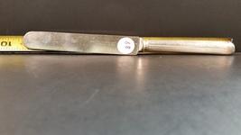 Antique Silverplate knife 1865 Wm Rogers Mfg Co. warranted 12 DWT 1907 D... - $5.00