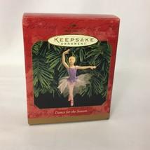 Ballerina Ornament Hallmark Keepsake 1999 Dance for the Season Christmas... - $26.99