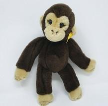 "10"" STEIFF BABY KOKO MONKEY CHIMPANZEE STUFFED ANIMAL PLUSH TOY LOVEY 28... - $45.82"