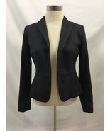 Ann Taylor Charcoal Petite Blazer One Button, Womens Size 00P - $23.74