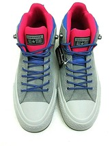 Converse Mens CTAS Street Boot Hi Hiking Casual Shoes Grey Blue Pink Siz... - $54.69