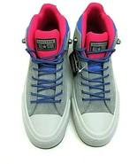 Converse Mens CTAS Street Boot Hi Hiking Casual Shoes Grey Blue Pink Siz... - $54.69