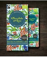 organic SEA SALT 55% - DARK CHOCOLATE WITH CARAMEL & SEA SALT 80g - $5.63
