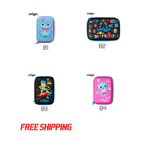 Smiggle Hard Case Pencil Top ice cream Colorful large capacity Cute anim... - $28.34