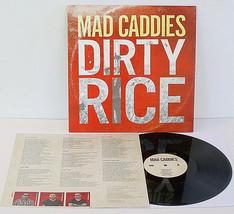 MAD CADDIES dirty rice LP Vinyl Record w/ lyrics insert, fat wreck chord... - £16.68 GBP