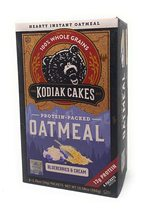 Kodiak Cakes Protein Packed Instant Oatmeal, Blueberries & Cream, 6 Packets - $9.00