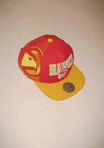 Atlanta Hawks NBA Classic Throwbacks Adult Unisex Red Yellow Cap One Siz... - $39.59