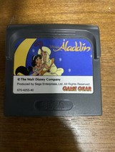 Game Gear ALADDIN Cartridge Only Sega Import JAPAN Game gg - $20.03 CAD