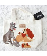 Disney Character Goods Lady and the Tramp Tote Bag Hand Kiddy Land Japan - $66.33