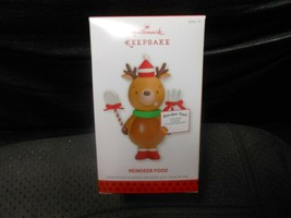 "Hallmark Keepsake ""Reindeer Food"" 2013 Ornament NEW   - $5.89"