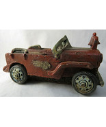 "Vintage Roadster Car Resin Statue Figurine Paperweight 4"" Long - $15.00"