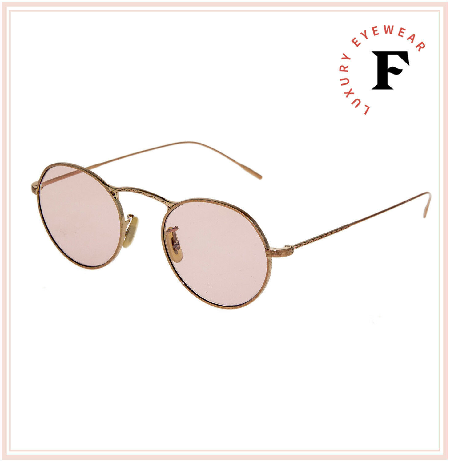 Oliver Peoples M-4 30th Round Sunglasses OV1220S Rose Gold Photochromic Unisex