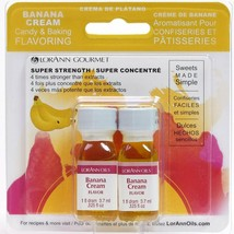 Lorann Oils Candy and Baking Flavoring Bottle 2 Pack Drams Banana Cream - $7.84