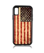 AMERICAN USA DISTRESSED FLAG PHONE CASE FOR IPHONE XS MAX X 8 PLUS 7 6S 6 - $13.49