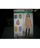 Simplicity 1067 Variety of Unlined Coats & Jackets Tie Belt Pattern - Si... - $9.89