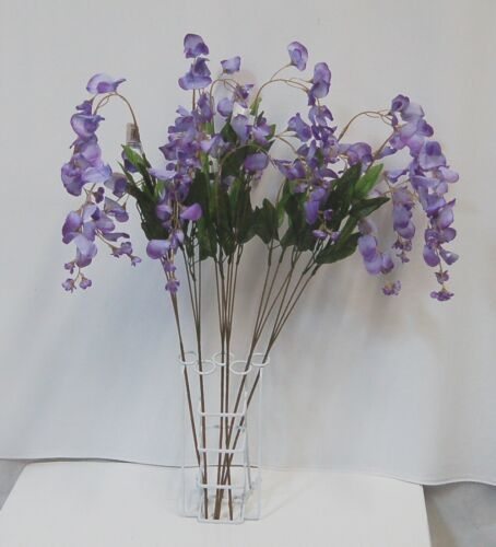 Teters Brand ESF70043PU Wisteria Purple Stem 6 Pieces Boxed 34 Inches Long