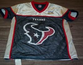 Houston Texans Reversible Nfl Flag Football Jersey Adult Small - $19.80