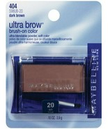 BUY1 GET1 AT 20% OFF Maybelline Ultra Brow Brush-On-Color Powder #20 Dar... - $13.92