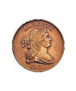 Copper Half Cent, 1800 slight wear, Free expedited in 1 day from USA - $92,29 MXN