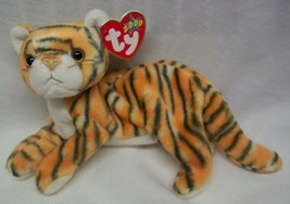 "TY 2000 Beanie Baby INDIA THE TIGER CAT 8"" Plush STUFFED ANIMAL Toy NEW - $15.35"