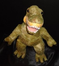 "Build A Bear Dinosaur T-Rex 18"" Plush Green Brown Scales Stuffed Animal - $13.16"