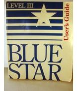 Blue Star Level III User's Guide Matrix Software 1989 - $26.99