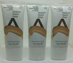 Lot of 3 Almay Smart Shade Skin Tone Matching Makeup Medium Meets Deep 4... - $17.77